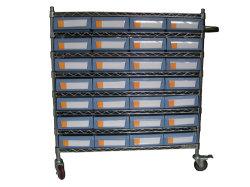 Panel de acero de alta calidad Cable bandeja con estanterias contenedores