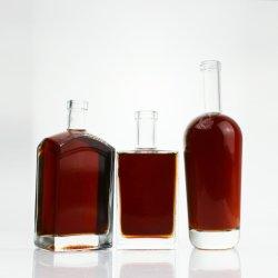 زجاجة ليكور من نوع الزجاج سعة 500 مل و750مل من الفودكا الزجاجية سبيريت سعة 750 مل بسعر تنافسي