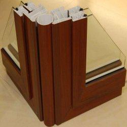 Het houten Profiel van pvc van de Co-extrusie