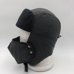 شتاء تزحلق على الثلج خارجيّ يغلّف صوف حريريّة قناع [روسّين] قبعات