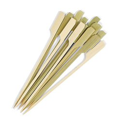 Bastões de madeira biodegradável 6 tamanhos 2,75. Seleção da bandeja de bambu Gushi Teppo