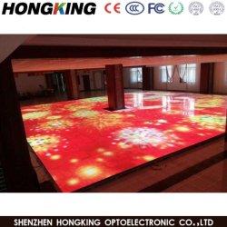 P6.25 ダンスフロア LED スクリーンインタラクティブダンスフロアスクリーンのサポート ゲームインタラクティブ