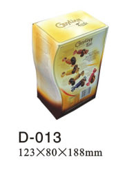 L'étain Candy Box (D-013)