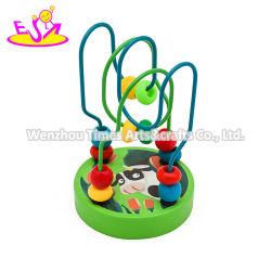 Personalizar Madeira Educacional Bebé cordões de brinquedo no fio W11b265