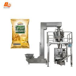 A BG Pesagem de sementes de linho dourado/marrom máquina de embalagem de alimentos
