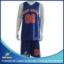 Asciutto-Misura le uniformi Premium di pallacanestro di stampa completa su ordinazione di sublimazione