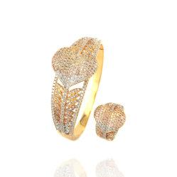 愛中心の宝石類の腕輪の一定の女性の女の子の祝祭のギフトの銅合金