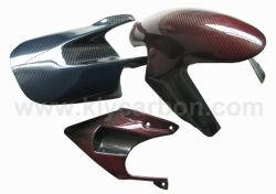 Farben-Kohlenstoff-Faser-Motorrad-Teile