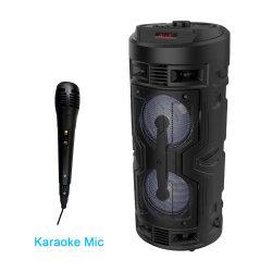 Coluna de som estéreo de cinema em casa portátil profissional por grosso com Bluetooth Caixa com amplificador Mic DJ Mobile Powered active Loud sem fios Colunas de festa
