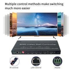 무해 LED HDMI 3X2 4X4 12x12 2x3 3x3 2x4 비디오 벽면 컨트롤러