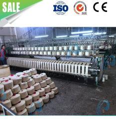 Máquina de fabricación de hilados hilados de cachemir/ Visón largo pelaje mezcla de lana de angora hilado cardada máquina textil de hilo luminoso de hilo de tejer con una buena tecnología