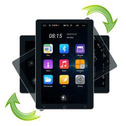 Android 10,1 inch verticaal draaischerm 2 DIN Universele auto-GPS Automatische stereo Video Audio-speler