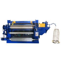 ماكينة كاملة أوتوماتيكية من النسيج الشبكي ذات الأسلاك الملحومة من الفولاذ المقاوم للصدأ