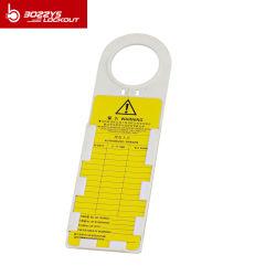 PVC-materiaal voor de Bozzys Safety Scafflod Tagout Lockout Holder