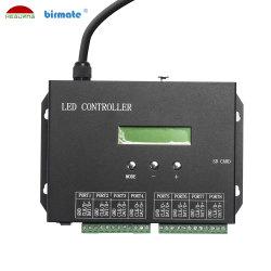 O Sistema de Controle de LED RGB de interior e exterior de 5 fios coloridos DMX Controller