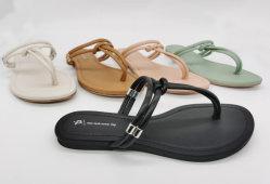 2020 Mulheres Verão Chinelos Sandálias Plana Chinelas Beach Thong calçados para meninas