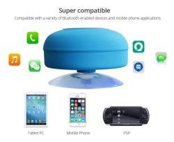 Teléfono móvil inalámbrico Bluetooth manos libres estéreo con altavoces de sonido de la música fuerte Sucker