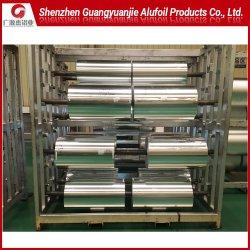 최신 보통 알루미늄 또는 알루미늄 호일 1235 유연한 포장 인쇄 물자 음식 패킹 폴리에스테 또는 애완 동물 필름 포일을%s 8079의 O Um 미크론