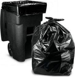 Haute densité peut les chemises en plastique de la corbeille sac poubelle