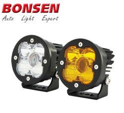 3pulg. de trabajo de la barra de luz láser 10W 1000LM Haz deporte de larga distancia de iluminación para el Offroad, SUV, ATV
