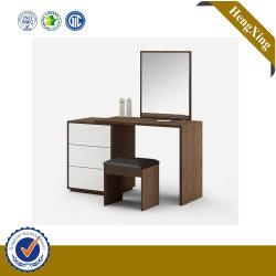 Chinese Simple Design Houten slaapkamer meubels set MDF Mirror Dressing Tafel dresser kast