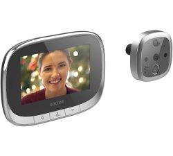 4.3Inch Anel digital de vídeo sem fio WiFi Campainha telefone intercomunicador de vídeo da câmara Campainha Visualizador de porta (W02)