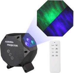 Nachtheller Stern-Projektor, Aurora-Nordlichter des LED-Nebelfleck-Wolken-Laser-Feiertags-Licht-3D für Schlafzimmer des Kind-Geschenk-Babys und Weihnachtshauptpartei