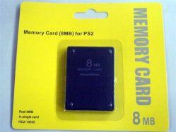 Cartão de memória para a PS2 (8MB-64MB)