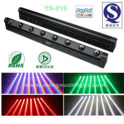 Étape 8*10W de lumière LED Barre de déplacement du faisceau de la tête (YS-215)