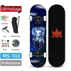 Ahornholz-im Freiensport-Skateboard des Qualität PU-Rad-7layers