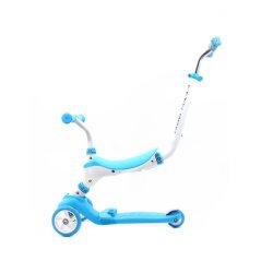 1개의 스쿠터, 걷는 균형 자전거, 탐에 대하여 유아와 아이 5 위에, 걷어차기 스쿠터, 조정가능한 고도, 여분 넓은 갑판 이동할 수 있는 안장, 세 배 스쿠터, 공구 필요 없음,