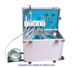 Meilleure vente valise Type Unité de prestation de soins dentaires grâce à la lumière de séchage