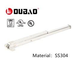 Ss304 Taxa de Incêndio Pânico dispositivos de saída com Certificado UL (UL500S) &Barra de Impulsão