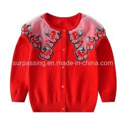 Il bambino del collare ricamato seta del germoglio copre i capretti all'ingrosso dei vestiti del bambino dei vestiti all'ingrosso del bambino che coprono l'abito dei bambini dei vestiti dell'animale domestico dei vestiti dei bambini dell'indumento