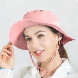 حماية من الأشعة فوق البنفسجية قابلة للطي المشي صيد السمك Sun Hat الرجال أو النساء قبعة الجرافة عالية الجودة