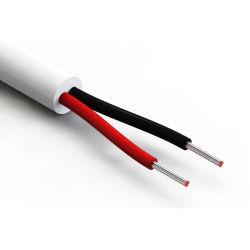 300V Ronda de 2 núcleos recubierto de PVC para cable eléctrico Cable alarma de incendios