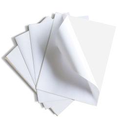 A4 크기 사용자 지정 접착식 용지 비닐 스티커 바코드 인쇄 라벨 스티커
