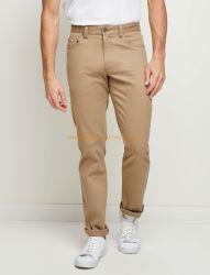 Spandex-kakifarbige beiläufige gesponnene Hosen 98% der Männer der Baumwolle2%
