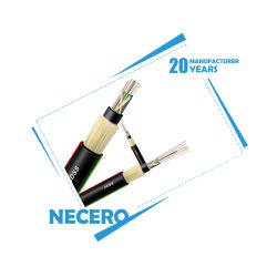 Piscina Óptico Necero Necero PE protecção UV Outersheath 48core ADSS Monomodo de cabo de fibra óptica