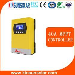 12V de alimentación de entrada de PV Sistema Solar MPPT Controlador de carga solar