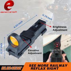 Element Airsoft Seemore Bahnreflex C-Mehr Anblick roter PUNKT Anblick für Waffe Tacitcal Taschenlampe roten PUNKT Bereich Ex182