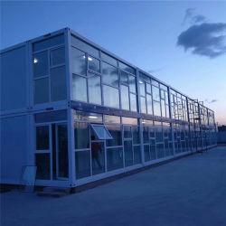Het PrefabKamp die van de Luxe van China het Modulaire PrefabHuis van de Container van 3 Verdieping bouwen