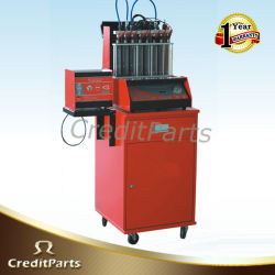 Crazy Hot Sales 8 Cylindre Fuel Injector Cleaner and Analyzer with Desk (FIT-101)