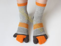 Yoga Socken Finger Socken Beste Qualität Baumwolle Polyester Spandex Socken Wie V-Form