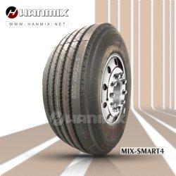 Todo el acero Hanmix Bus TBR Radial neumáticos para camiones 11r22.5 295/80R22.5 315/80R22.5 1100r20 385/65R22.5