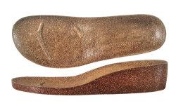Houten Sole Cork Sole (B-1257)
