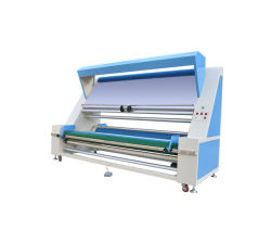 Sz-2100c Tejido tejido y la prueba de inspección de comprobación de la laminación de tela bobinado y máquina de medición