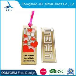Segnalibro su ordinazione di plastica del metallo di marchio stampato stampa lenticolare su ordine promozionale del contrassegno di libro di figura magnetica di legno del cuoio impresso dell'ologramma 3D del magnete del PVC (04)