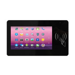 Suministro de la fábrica de 7 pulgadas de Panel PC industrial con la tarjeta RFID Android Tablet PC Todo-en-uno