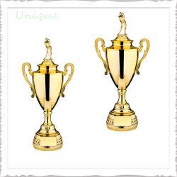 يتوفّر قارب مصنع بيع بالجملة لعبة غولف فنجان معدن رياضة مكافأة نوع ذهب فضة غنيمة لأنّ ترويجيّ يشخّص هبة